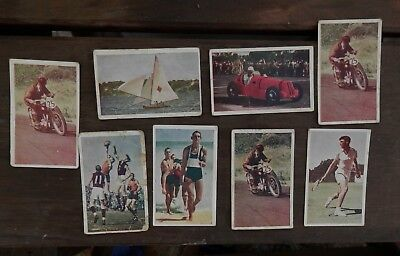 Wafl Australian Sports  Vintage Ava Confections Cigarette Cards