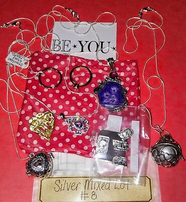Mixed Lot of Sterling Silver 925, Silverplate & Stainless Jewelry Keep or Resell