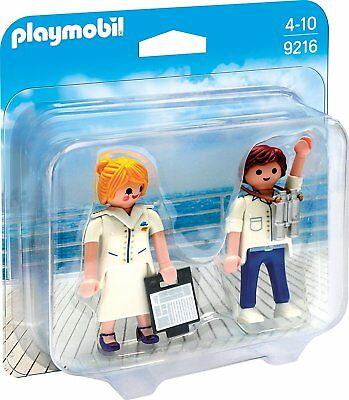 PLAYMOBIL® Duo-Pack: 9216 Stewardess + Offizier