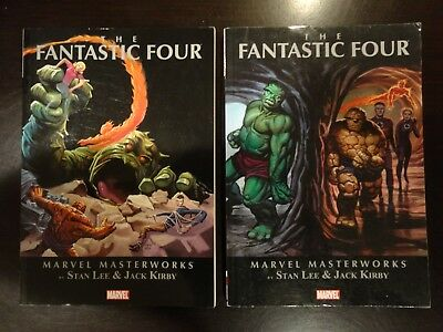 Marvel Masterworks The Fantastic Four 4 Vol 2 TPB Stan Lee Jack Kirby Thing FF