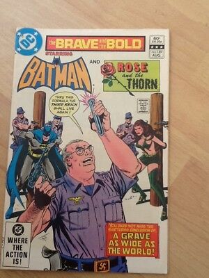 Brave And The Bold #189 -Batman & Rose and the Thorn