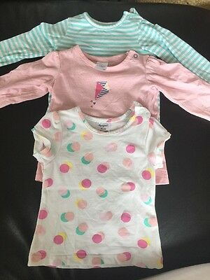 Baby Girl T-shirt Bundle X3 Size 00 Target + Dymples