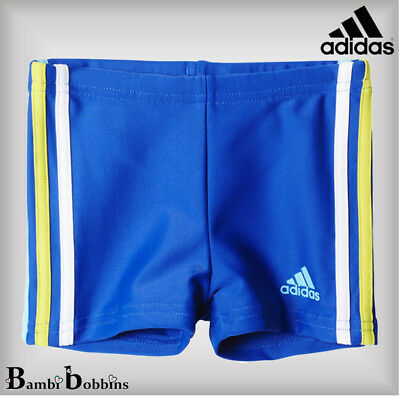 Adidas Inf 3S Baby Boys Boxer Swimming Trunks Shorts 12-18-24 Months 2-3-4 Years