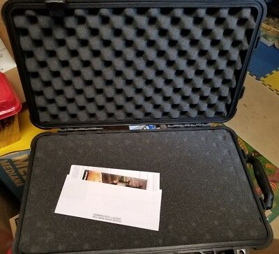 Pelican 1510 Case With Foam (Black) Carry-On Case Camera laptop guns electronics