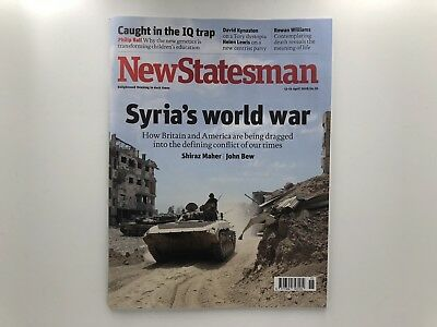 New Statesman Magazine 13-19 April 2018 - NEW