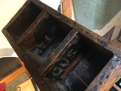 Antique Wood Of Reedley Grain Growers Co. Of Califonia . Packed & Ship Box