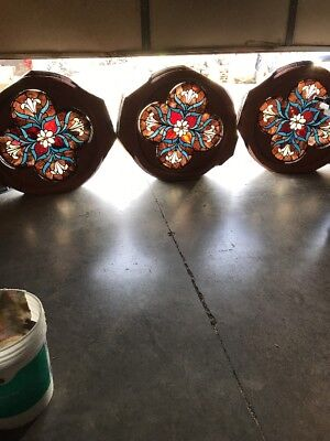 Quadra Foil 38 Inch Diameter Three Available Price Each Floral Window