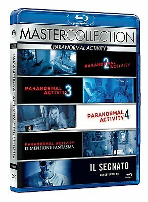 Paranormal Activity Collection (Master Collection) (5 Blu-Ray Disc)
