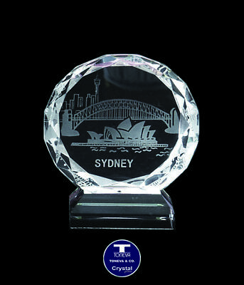 "[SPECIAL OFFER] ""Opera House"" Austrian Crystal Figurine/Paperweight was AU$51.00"