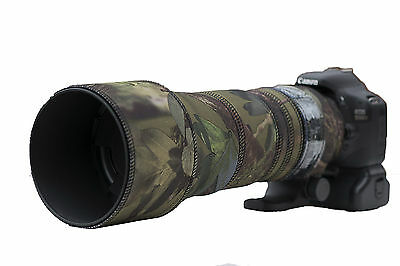 Sigma 150 600mm CONTEMPORARY Protection Neoprene lens cover Green Camo