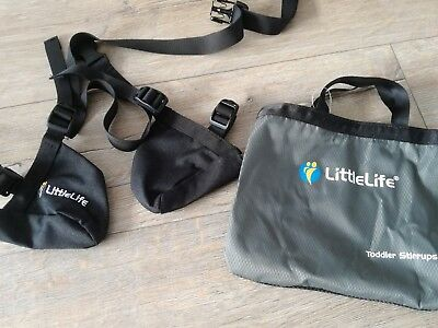littlelife carrier toddler stirrups little life