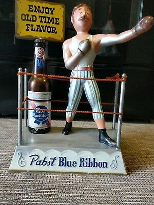 Pabst Blue Ribbon Boxing Ring Display Vintage Beer PBR