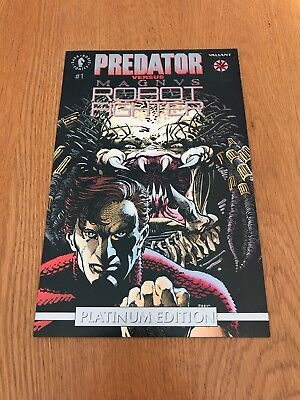 Predator Versus Magnus Robot Fighter #1 Platinum Edition Dark Horse Comics