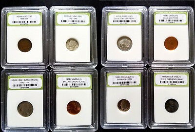 ✯ Slabbed U.S. Coin Estate Collection ✯ Includes Silver! Rare Old US Coin Lot ✯