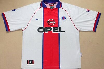 Vintage Nike Paris Saint-Germain 1996-97 Away Football Shirt,retro,size:xxl