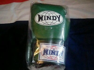 Windy boxing Gloves , 12oz, emerald green.