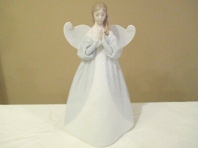 "Lladro Angel Tree Topper Celestial Scent 9 1/4"" Tall - Lovely"