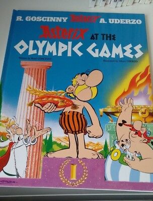 Asterix At The Olympic Games Hardback Book Comic