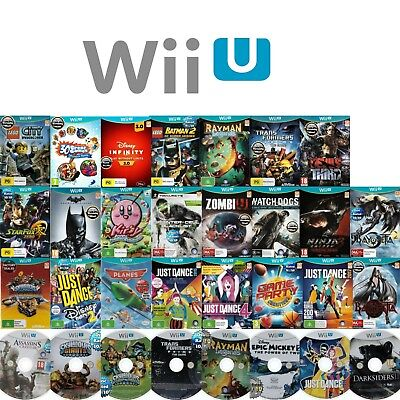🧐 NINTENDO WII U ●● AWESOME TITLES! **AS OR NEAR NEW** ●● Your Choice 21/05/18