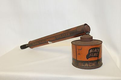 1950s Black Flag Continuous Bug Insect Sprayer by Boyle Midway inc. Vintage