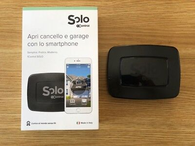 1CONTROL SOLO – Gate and garage opener Bluetooth 4.0 LE iPhone and Smartphones