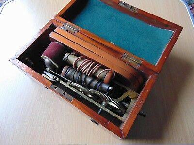 Antique Magneto Electric Shock Machine For Nervous Diseases Maw London 1870
