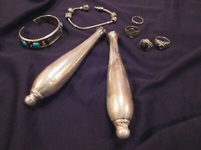 Nice Mixed Lot of Sterling Silver Jewelry + ? 95.7 Grams