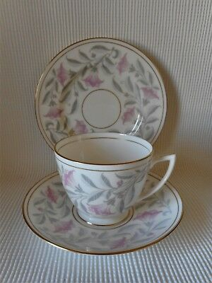 Minton Petunia Tea Trio - John Wadsworth - Great Condition