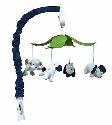 New Trend Lab Perfectly Navy Baby Crib Mobile - 1036