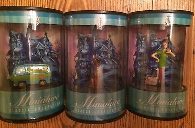 (3 Pieces) WB Warner Bros. Scooby Doo Miniature Classic Collection from 1999