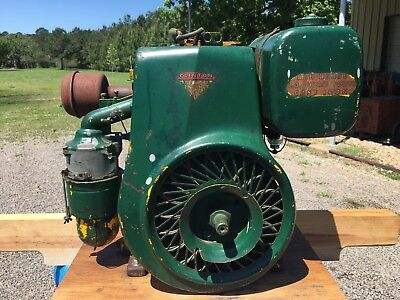 Vintage Clinton Red Horse 6.3 HP Engine