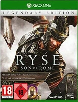 XBOX ONE GIOCO RYSE SON OF ROME - Legendary Edition incl. 4 Add-Ons Merce NUOVA
