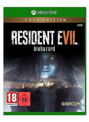 XBOX ONE JUEGO RESIDENT EVIL 7 GOLD EDITION Producto NUEVO