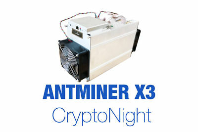 Bitmain Antminer X3 (220Kh) * May 10-20 Batch * High Profitability * No Reserve!