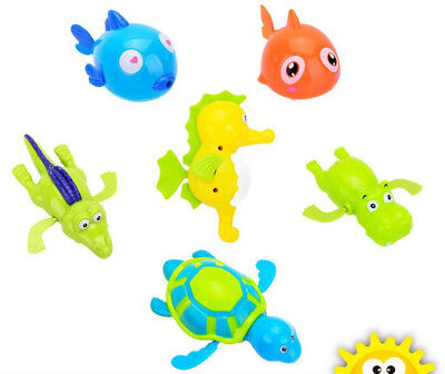 Cute Swimming Animal Turtle Pool Toy for Baby Children Kid Toddler Bath Time Fun