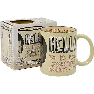 NEW AWESOME Lionel Richie Hello Is It Tea You're Looking For Novelty Coffee Mug