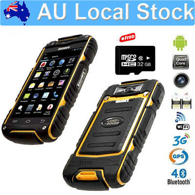 32G Unlocked Land V8 Rover 3G Smartphone Rugged Android 4.2 Mobile Phone MTK6582