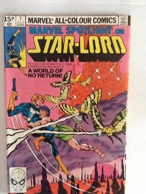Marvel Spotlight on Star-Lord Vol.2 No. 7 July 1980