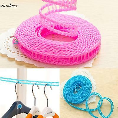Nylon Clothes Hanging Drying Ropes Non-Slip Windproof Clothes Washing S5DY