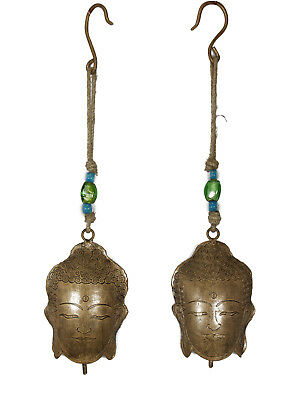 1pc 40cm Buddha Bell Hanging in Copper Design