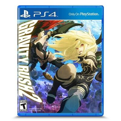PS4 Gravity Rush 2 Brand New Factory Sealed Playstation 4