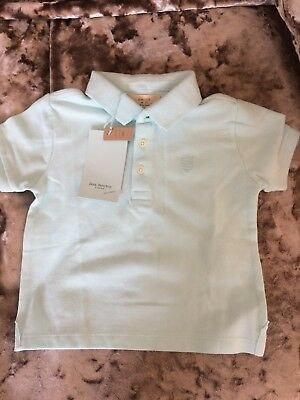 Zara baby boy turquoise short sleeve t-shirt 12 - 18 months. Brand New with tags