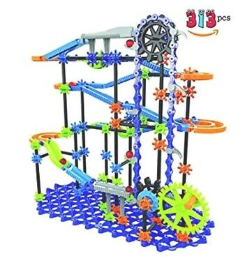Discovery 313 Pieces Kids Toy Marble Run Marble Works Marble Track Educational