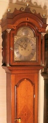 "Antique Oak  "" London ""  Automation Eyes  Longcase / Grandfather Clock"