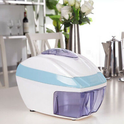 Electric ICE CRUSHER Shaved Shaver Machine Snow Cone Maker AU POST