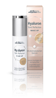 MEDIPHARMA COSMETICS HYALURON TEINT PERFECTION MAKE UP NATURAL GOLD 30ml