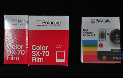 2 Packs Film für for Polaroid 3000, 3500, 4000, 5000, Polaroid Originals Color