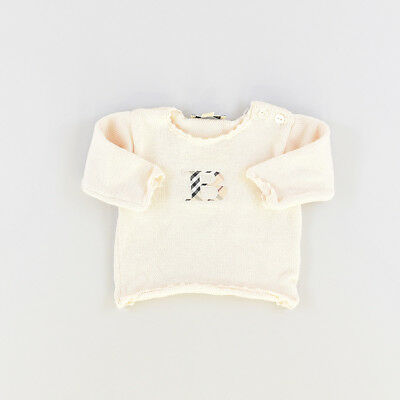 Jersey color Beige marca Burberry 6 Meses  506016