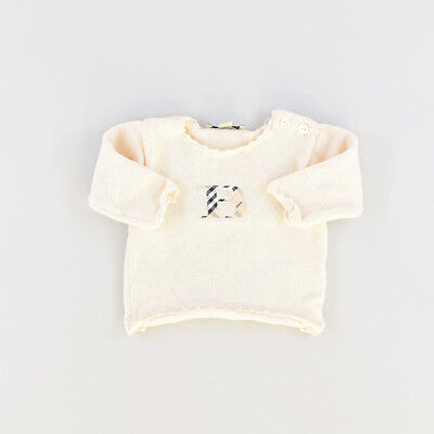 Jersey color Beige marca Burberry 6 Meses