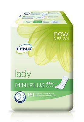 TENA Lady Mini Plus Einlagen 10X16St PZN: 4114083